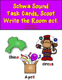 Dollar Deal! Schwa Task Cards {40 Cards, Recording Sheet, Printables}