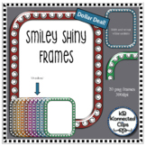 Dollar Deal! Smiley Shiny Frames - 10 colors