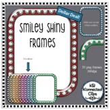 Dollar Deal! Smiley Shiny Frames - 10 colors