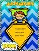 Dollar Deal! Super Hero Birthday Board! Editable Back to School