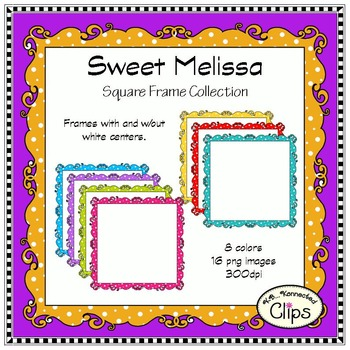 Dollar Deal! Sweet Melissa Frame Collection