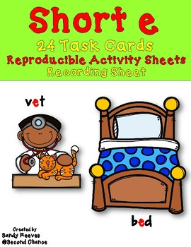 Dollar Deal! Task Cards, Quiz-Quiz-Trade, Scoot and More! Short e