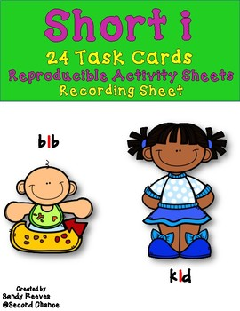 Dollar Deal! Task Cards, Quiz Quiz Trade, Scoot and More! Short i