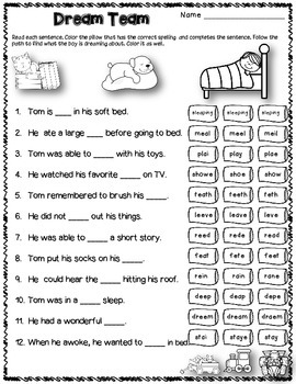 Dollar Deal! Vowel Digraphs and Long Vowel Sounds 40 Task Cards! CCSS
