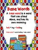 Dollar Deal! Write the Base Word! {40 Task Cards}