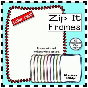 Dollar Deal! Zip-it Frames