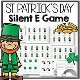 St. Patrick's Day Phonics Game for Silent e Fluency and Accuracy