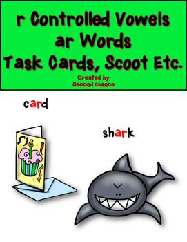 Dollar Deal! r-Controlled {ar Words} Task Cards, Scoot etc