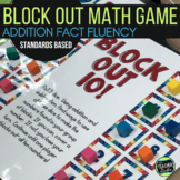 """Dollar Deals:  """"Block Out"""": A Structuring Addition Fact Fluency Game"""