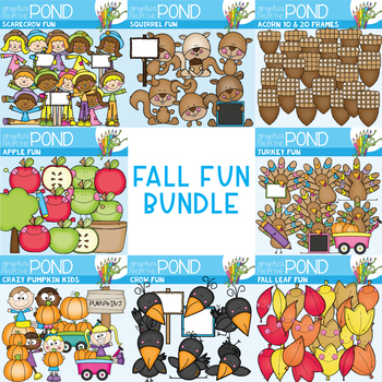 Fall Fun Bundle - Autumn Clipart