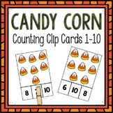 Dollar Deals! Candy Corn Counting Clip Cards 1-10