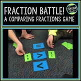 """""""Fraction Battle"""" Comparing Fractions and Fraction Sequencing Game"""