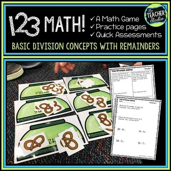"Dollar Deals:  ""The Pretzel Game"": A Game for Basic Division and Remainders"