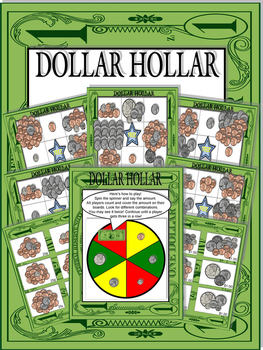 Dollar Hollar Bingo Game