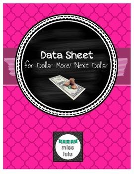 Dollar More/ Next Dollar Data Sheet