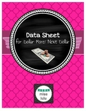 Dollar More/ Next Dollar Data Sheet