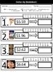 Dollar More Method FREEBIE Worksheets