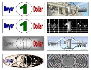 Dollar Reward System - Classroom Management