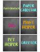 Dollar Spot Themed Chalkboard Decor Bundle