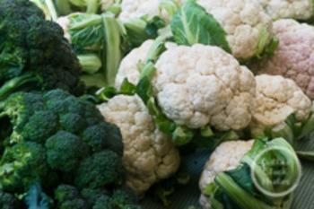 Dollar Stock Photo 125 Broccoli and Cauliflower