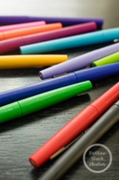 Dollar Stock Photo 159 Scattered Colorful Pens