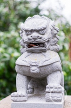 Dollar Stock Photo 182 Chinese Stone Lion