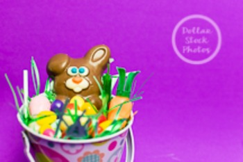 Dollar Stock Photo 205 Easter Bunny and Candy