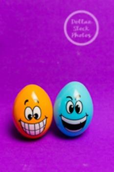 Dollar Stock Photo 208 Two Happy Eggs