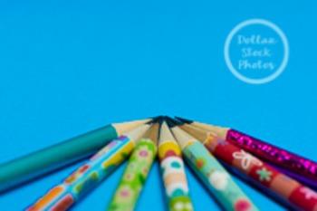 Dollar Stock Photo 214 Spring Pencils