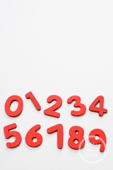 Dollar Stock Photo 223 Red Numbers