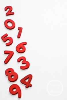 Dollar Stock Photo 224 Red Numbers