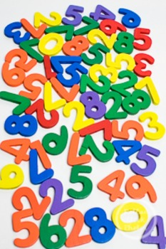 Dollar Stock Photo 228 Colorful Pile of Numbers