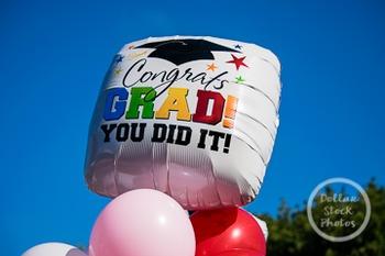 Dollar Stock Photo 245 Graduation Balloon
