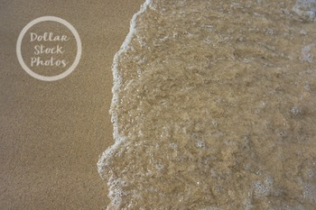 Dollar Stock Photo 289 Sand with Water