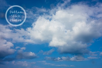 Dollar Stock Photo 292 Cumulus Clouds