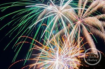 Dollar Stock Photo 325 Fireworks