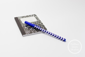 Dollar Stock Photo 336 Chevron Pen and Composition Book