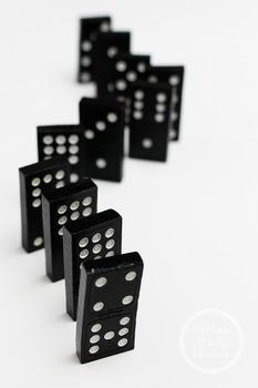 Dollar Stock Photo 375 Dominoes Standing