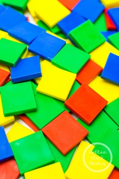Dollar Stock Photo 378 Colorful Math Tiles