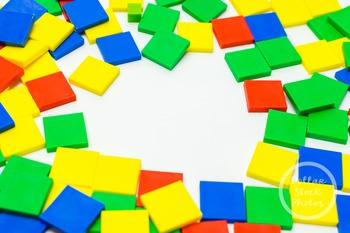 Dollar Stock Photo 379 Colorful Math Tiles