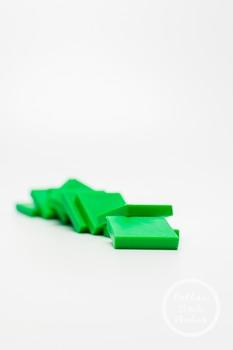 Dollar Stock Photo 388 Green Math Tiles
