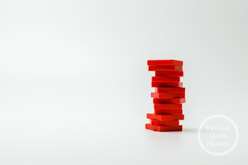 Dollar Stock Photo 397 Red Math Tiles