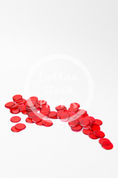 Dollar Stock Photo 403 Math Disks Red