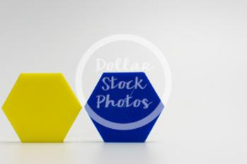 Dollar Stock Photo 417 Math Pattern Blocks Hexagon Whole