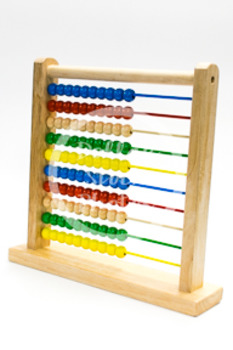 Dollar Stock Photo 425 Math 100 Bead Abacus