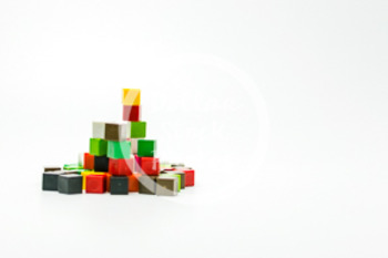 Dollar Stock Photo 428 Math Centimeter Cubes Pile