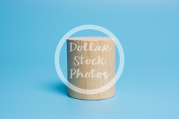 Dollar Stock Photo 435 Wooden Block Cylinder