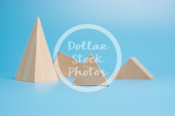 Dollar Stock Photo 436 Wooden Block Pyramids