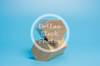 Dollar Stock Photo 437 Wooden Blocks