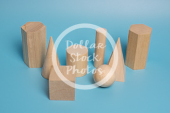 Dollar Stock Photo 439 Wooden Solid Shapes